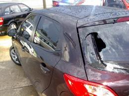Window and body hail damage